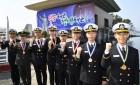 """""""임관 신고합니다"""" … 해군사관학교 제72기 136명 졸업·임관식"""