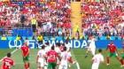축구팬들 분노케한 모로코 페페의 파울, 휘슬 불지 않은 주심 경기중 유니폼 달라고 했다? '논란'