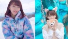 '프듀48' 첫 센터 소문 도는 미야와키 사쿠라 SNS 사진 39장 영상