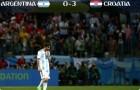 메시의 아르헨티나가 16강 탈락? 크로아티아에 0-3 완패 '1무 1패'