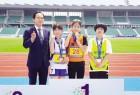 육상 박수진 광주선수단 첫 금