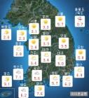 [내일 날씨] 아침에 '비.눈', 추위 계속...이번주 주간예보는?
