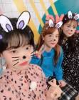 """'발칙한 동거 결방' 산다라박, 이하이·이수현 사이서 '동안 미모' 과시 """"YG 패밀리"""""""