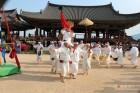 밀양백중놀이, 평창올림픽 'Art on Stage' 공연...국내외 관객들 매료