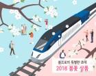코레일, '봄꽃 패키지 철도여행상품' 36개출시