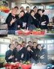 '기름진 멜로' 이준호·정려원·조재윤…주방 식구들의 화기애애 인증샷