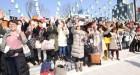 설원에 뜬 아시아의 별들 한류 팬들을 위한 특별한 여행