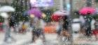 [오늘 날씨] 전국 비 서울·경기 시간당 50mm…수원 25∼28도 인천 25∼26도