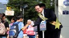 이용범 인천시의회 의장, 어린이교통사고줄이기캠페인 참여