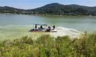 한국농어촌공사, 흥부저수지 녹조방제작업 진행