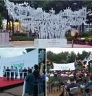 1987년 노동자대투쟁 30주년 '노동기념비' 제막식 개최