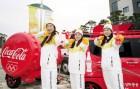 여자양궁대표팀 3총사 장혜진·기보배·최미선, 하계올림픽 금메달 기운으로 평창올림픽 성화 참여