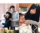 """'출산' 허민♥정인욱 """"딸 100일이에요"""" 달달한 신혼일기"""
