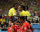 '화려함' 브라질 vs '조직력' 스위스, WC 다운 '명경기' 펼쳤다