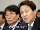 김성태, 임종석 '군기잡기' 분기탱천