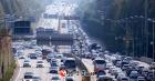 주말 나들이 차량 ↑.. 전국 주요 고속도로 정체현상