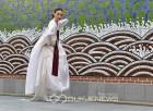절제미의 극치 한성준에 의한 '살풀이 춤'