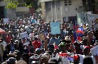 아이티, 反트럼프 시위