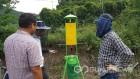 진안군, 갈색날개매미충 친환경방제 기술 보급