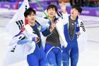 '2018 평창동계올림픽' 스피드스케이팅 남자 팀추월 결승전, 시청률 50.1% 기록
