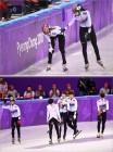 '2018 평창동계올림픽' 한국, 쇼트트랙 여자 1000m-남자 5000m 계주 노메달