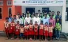 [우리모두뉴스] 현대엔지니어링이 캄보디아에 '새희망학교 6호'를 지어 선물했어요