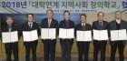 전북도-도내 6개 대학, 지역사회 창의학교 협약