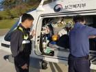 부안해경, 위도서 응급환자 긴급 이송