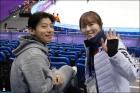 김아랑-곽윤기, 국가대표의 보조개 미소