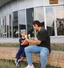 '아들바보' 한화이글스 '이용규'…도헌이와 함께하는 월요일
