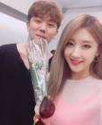 문현아, 걸그룹 출신답게 화려한 인맥 뽐내? '정기고와 함께 다정하게 찰칵'