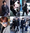 [ST스페셜] 태양♥민효린 결혼식, 범YG에 '써니'·언니쓰까지 하객 총출동