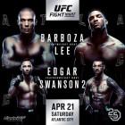 'UFC 재계약' 컵 스완슨, 프랭키 에드가와 격돌