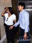미나-류필립 '김승현-한정원 결혼식 참석'