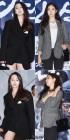 안소희 김사랑, '블랙 오버핏 vs 헤링본 슬림핏' 패셔니스타의 가을 재킷 연출법