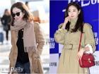 정려원 김사랑 '트렌치코트', 가을 아우터 한겨울에 입는 법