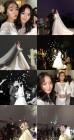 '파도야 파도야' 조아영, 달샤벳 가은 결혼식 사진X영상 공개 '흥 넘치는 신랑·신부'