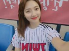 "'kbo 프로야구' 관람 표예진, ""아 이겼으면 좋겠다아""…'어떤 팀을 응원할까?'"