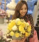 """[근황] 류현진 연인 배지현 아나운서, 일상 보니? """"꽃보다 그대가 더 예뻐요"""""""