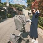 [근황] '배용준의 그녀' 박수진, 유모차 탄 아기와 가을 산책…'나이가 무색한 동안'