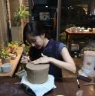 [근황] 한채아, 일상 사진 공개…나만의 '도자기 빚기'