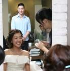 서민정, 행복한 표정으로 남편을 바라보며…'시선집중'