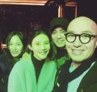 """차예련-주상욱, 왁스-홍석천과 남다른 친분 과시…""""이태원 나들이"""""""