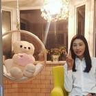 '중국 진출' 김연경, 인형과 함께 전한 설 인사…'정직한 브이'