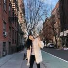 [근황] 에이핑크(Apink) 손나은, 뉴욕에서도 걸크러쉬 '패셔니스타'