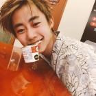"""[근황] 박지빈, 녹차 아이스크림 물고 상큼함 과시…""""응 아니야"""""""