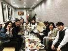'인형의 집' 왕빛나, 박하나·한상진 등과 함께한 점심 단체샷 공개 '출연진들 다 모였네'