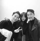 나르샤♥황태경, 공연 나들이 인증샷…'즐거운 데이트'