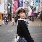 '프로듀스48' AKB48 미야와키 사쿠라, 과거부터 한국 관광 했던 이력 '인형 포스'