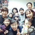 """'아빠본색' V.O.S 박지헌, 부모님과 함께한 가족사진 공개…""""6남매 할아버지"""""""